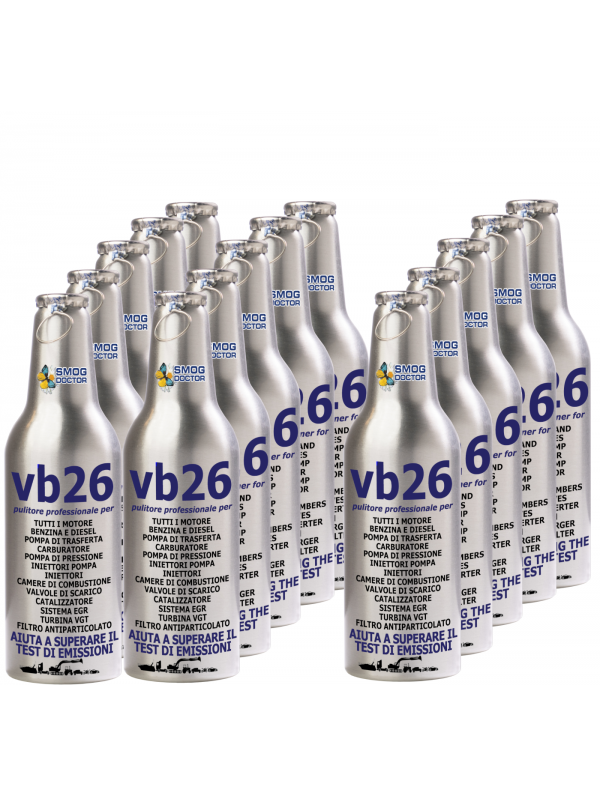 KIT-VB26-IT  RECEIVE 15 BOTTLES OF VB26 AT THE PRICE OF 10