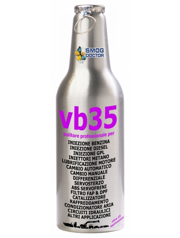 VB35-IT MULTI FUNCTION CLEANER FOR ALL FUEL AND OIL SYSTEMS, FAP, DPF, CONVERTER, COOLER, AIRCO AND MORE